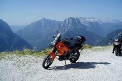 Reisen und Touren: Slowenien: Friaul - Die julischen Alpen