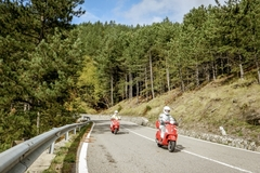 Reisen und Touren: Scooter Tour Alpen 2018