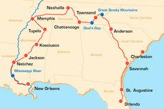 Reisen und Touren: Südstaaten Rundreise USA