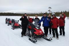 Reisen und Touren: 4 Tage Wintersafari in Lappland