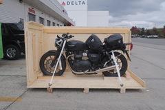 Motorrad-Transport: Motorradtransport Chile, Seefracht